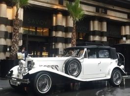 White Beauford for weddings in Brentwood